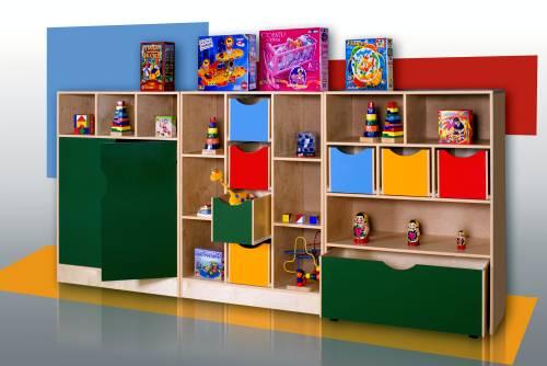 Мебель для игрушек и пособий — Каталог продукции —